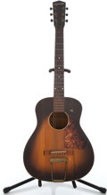Musical Instruments:Acoustic Guitars, 1930's Kalamazoo KG-14 Sunburst Acoustic Guitar ...