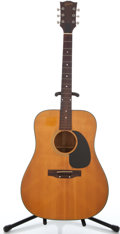 Musical Instruments:Acoustic Guitars, 1970's Gibson J-50 Natural Acoustic Guitar #676555...