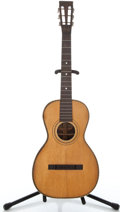 Musical Instruments:Acoustic Guitars, 1900's Washburn Parlor Natural Acoustic Guitar #36010...