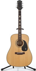 Musical Instruments:Acoustic Guitars, 1970's Epiphone FT-146 Natural Acoustic Guitar #371609...
