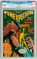 Silver Age (1956-1969):Horror, Tales of the Unexpected #104 Savannah pedigree (DC, 1968) CGC VF/NM9.0 Off-white pages....