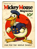 Platinum Age (1897-1937):Miscellaneous, Mickey Mouse Magazine #5 (K. K. Publications/ Western PublishingCo., 1936) Condition: GD+....