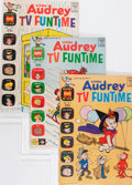 Silver Age (1956-1969):Cartoon Character, Little Audrey TV Funtime File Copy Group (Harvey, 62-71) Condition: Average NM-.... (Total: 51 Comic Books)