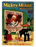 Platinum Age (1897-1937):Miscellaneous, Mickey Mouse Magazine #10 (K. K. Publications/ Western Publishing Co., 1936) Condition: GD/VG....