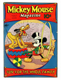 Platinum Age (1897-1937):Miscellaneous, Mickey Mouse Magazine #11 (K. K. Publications/ Western Publishing Co., 1936) Condition: VG/FN....