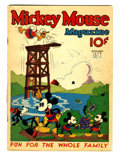 Platinum Age (1897-1937):Miscellaneous, Mickey Mouse Magazine #12 (K. K. Publications/ Western PublishingCo., 1936) Condition: VG-....