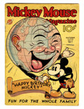 Platinum Age (1897-1937):Miscellaneous, Mickey Mouse Magazine V2#1 (K. K. Publications/ Western PublishingCo., 1936) Condition: GD+....