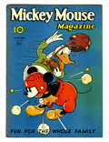 Platinum Age (1897-1937):Miscellaneous, Mickey Mouse Magazine V2#2 (K. K. Publications/ Western Publishing Co., 1936) Condition: VG/FN....