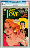 Silver Age (1956-1969):Romance, Falling in Love #91 Savannah pedigree (DC, 1967) CGC NM+ 9.6Off-white pages....