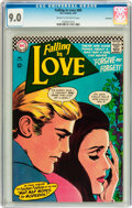 Silver Age (1956-1969):Romance, Falling in Love #89 Savannah pedigree (DC, 1967) CGC VF/NM 9.0Cream to off-white pages....