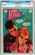 Silver Age (1956-1969):Romance, Falling in Love #97 Savannah pedigree (DC, 1968) CGC NM 9.4 Cream to off-white pages....
