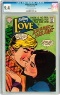 Silver Age (1956-1969):Romance, Falling in Love #96 Savannah pedigree (DC, 1968) CGC NM 9.4 Creamto off-white pages....