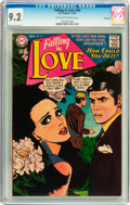 Silver Age (1956-1969):Romance, Falling in Love #95 Savannah pedigree (DC, 1967) CGC NM- 9.2 Off-white to white pages....