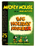 Golden Age (1938-1955):Cartoon Character, Mickey Mouse Magazine V2#3 (K. K. Publications/ Western Publishing Co., 1936) Condition: GD+....