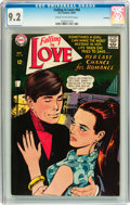 Silver Age (1956-1969):Romance, Falling in Love #94 Savannah pedigree (DC, 1967) CGC NM- 9.2 Cream to off-white pages....