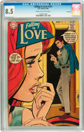 Silver Age (1956-1969):Romance, Falling in Love #101 Savannah pedigree (DC, 1968) CGC VF+ 8.5 Creamto off-white pages....