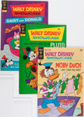 Bronze Age (1970-1979):Cartoon Character, Walt Disney Showcase File Copies Group (Gold Key, 1970-79)Condition: Average VF+.... (Total: 37 Comic Books)