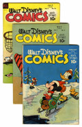 Golden Age (1938-1955):Cartoon Character, Walt Disney's Comics and Stories Group (Dell, 1944-55).... (Total:10 Comic Books)