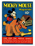 Platinum Age (1897-1937):Miscellaneous, Mickey Mouse Magazine V2#8 (K. K. Publications/ Western PublishingCo., 1937) Condition: FN/VF....