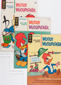 Bronze Age (1970-1979):Cartoon Character, Woody Woodpecker File Copies Group (Gold Key, 1965-82) Condition:Average VF+.... (Total: 74 Comic Books)