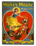 Golden Age (1938-1955):Cartoon Character, Mickey Mouse Magazine V3#5 (K. K. Publications/ Western PublishingCo., 1938) Condition: VG-....