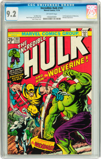 The Incredible Hulk #181 (Marvel, 1974) CGC NM- 9.2 Off-white pages