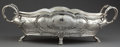 Silver Holloware, Continental:Holloware, A GERMAN SILVER CENTER BOWL WITH LINER . Unknown maker, Germany,circa 1900. Marks: (crescent moon, crown) 800, NO. 9657, ...