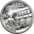 China, China: People's Republic. Inventions and Discoveries, Five-pieceProof platinum 25 Yuan Set 1994,... (Total: 5 coins)