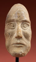 Antiques:Antiquities, Tiahuanaku Stone Portrait Face...