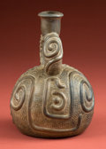 "Antiques:Antiquities, Superb Chavin ""Duality"" Stirrup Vessel..."
