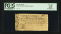 Colonial Notes:North Carolina, North Carolina March 9, 1754 30s PCGS Apparent Very Fine 35.. ...