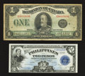 Canadian Currency: , DC-25o $1 1923. ... (Total: 2 notes)