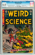 Golden Age (1938-1955):Science Fiction, Weird Science #22 (EC, 1953) CGC FN 6.0 Off-white pages....