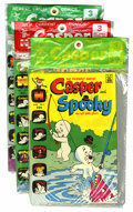 Bronze Age (1970-1979):Cartoon Character, Casper-Related Polybagged Group (Harvey, 1972-74) Condition:Average VF/NM.... (Total: 11 Items)