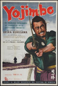 """Movie Posters:Action, Yojimbo (Toho, 1961). Argentinean Poster (29"""" X 43""""). Action.. ..."""