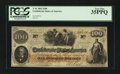 Confederate Notes:1862 Issues, T41 $100 1862. PF-22 Cr. 320A.. ...