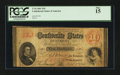Confederate Notes:1861 Issues, T24 $10 1861 PF-9 Cr. 165.. ...