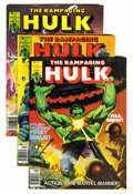 Magazines:Superhero, The Rampaging Hulk/Hulk Magazine #1-27 Group (Marvel, 1977-81)Condition: Average NM.... (Total: 27 Comic Books)