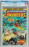 Bronze Age (1970-1979):Superhero, The Invaders #1 (Marvel, 1975) CGC NM 9.4 Off-white to white pages....