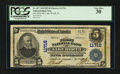 National Bank Notes:Florida, Lake Worth, FL - $5 1902 Plain Back Fr. 607 The First NB Ch. #11716. ...