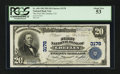 National Bank Notes:Colorado, Greeley, CO - $20 1902 Plain Back Fr. 650 The First NB Ch. # 3178. ...
