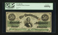 Confederate Notes:1862 Issues, T50 $50 1862 PF-UNL.. ...