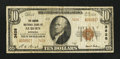 National Bank Notes:Nebraska, Auburn, NE - $10 1929 Ty. 2 The Carson NB Ch. # 3628. ...