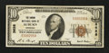 National Bank Notes:Nebraska, Auburn, NE - $10 1929 Ty. 1 The Carson NB Ch. # 3628. ...