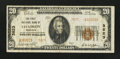 National Bank Notes:Nebraska, Chadron, NE - $20 1929 Ty. 2 The First NB Ch. # 3823. ...