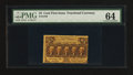Fractional Currency:First Issue, Fr. 1279 25¢ First Issue PMG Choice Uncirculated 64.. ...