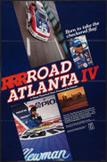 "Movie Posters:Sports, Road Atlanta IV (New Visions, 1980). One Sheet (23"" X 34.75""). Sports.. ..."
