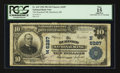 National Bank Notes:Maine, Rumford, ME - $10 1902 Plain Back Fr. 635 The Rumford NB Ch. #(N)6287. ...