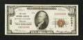 National Bank Notes:Nebraska, Hayes Center, NE - $10 1929 Ty. 1 The First NB Ch. # 8031. ...