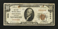National Bank Notes:Nebraska, Holdrege, NE - $10 1929 Ty. 1 The First NB Ch. # 3208. ...